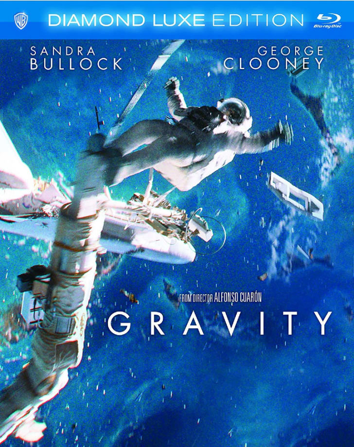 The 'Gravity: Diamond Luxe Edition' Blu-ray is pictured