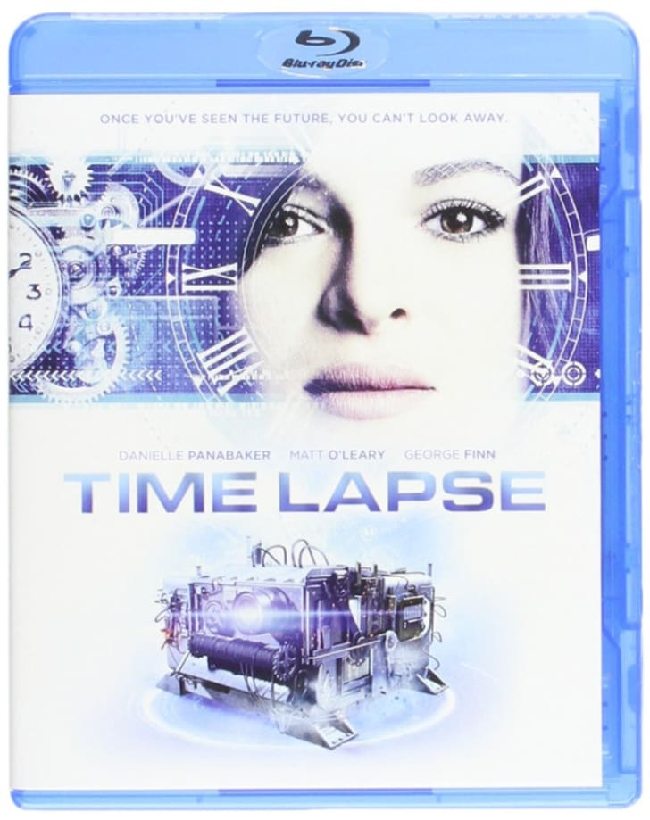 The 'Time Lapse' Blu-ray is pictured