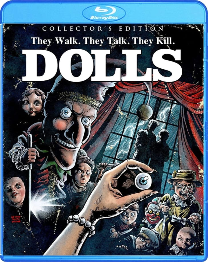 The 'Dolls: Collector's Edition' Blu-ray is pictured