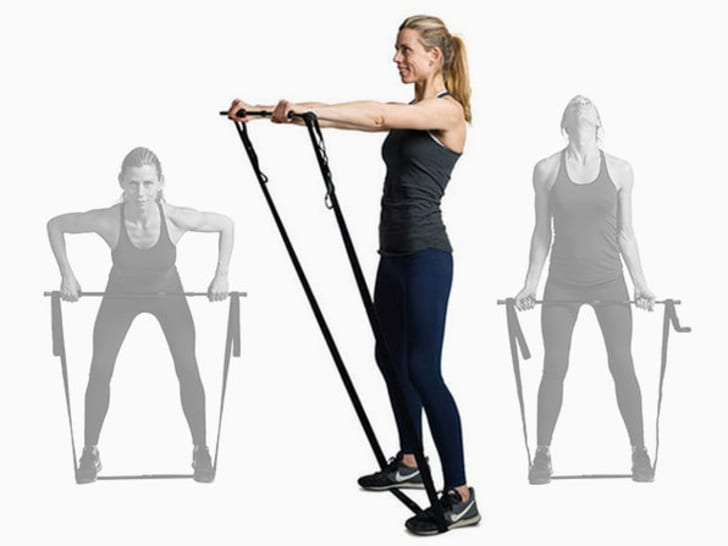 Posture elastic workout bands.