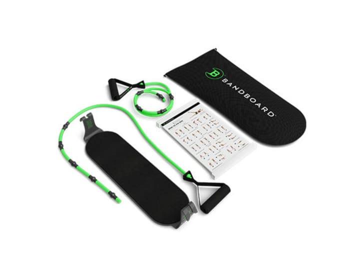 Bandboard home workout equipment.