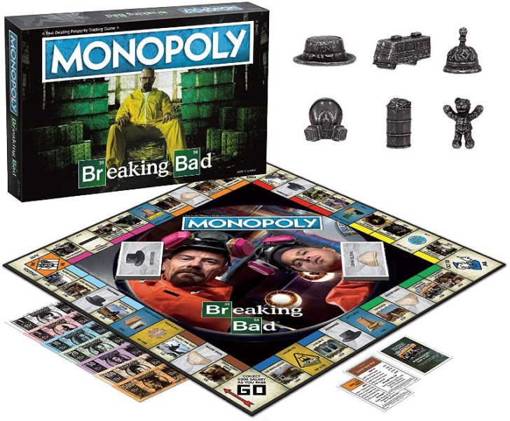 'Monopoly: Breaking Bad' is pictured