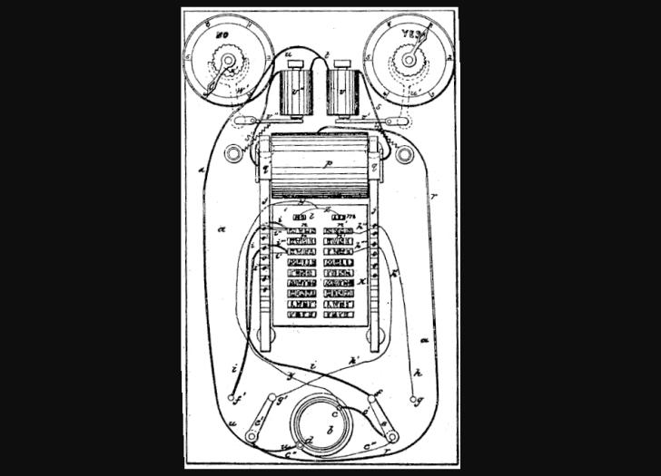 thomas edison electrographic vote-recorder patent 1869