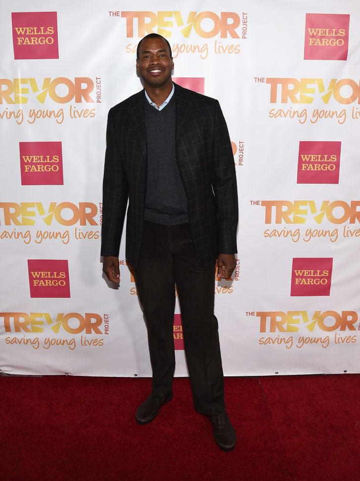 "Jason Collins attends ""TrevorLIVE LA"""