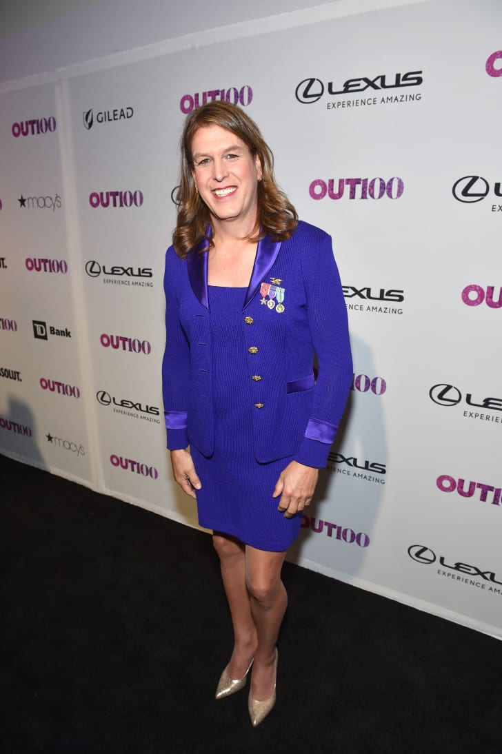 Kristin Beck attends OUT Magazine #OUT100 Event