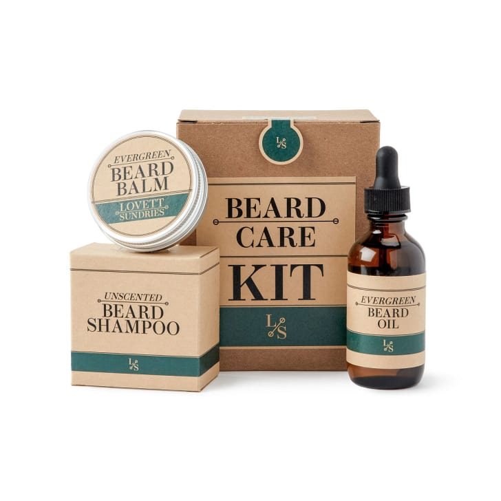 Beard care kit on UncommonGoods.