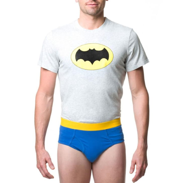 A man is pictured wearing Underoos