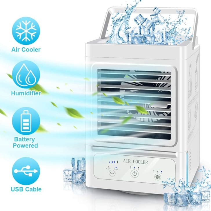 Juscool portable air conditioner.