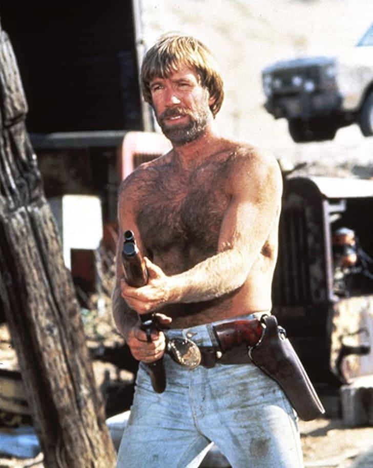 Chuck Norris in Lone Wolf McQuade (1983)