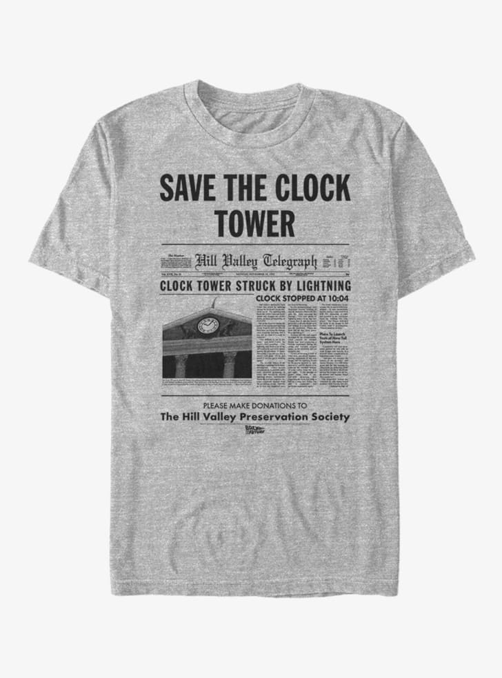 A Save the Clock tower t-shirt