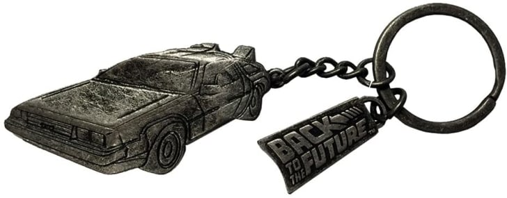 A 'Back to the Future' keychain