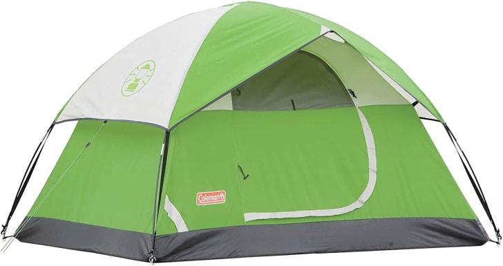 Coleman tent.