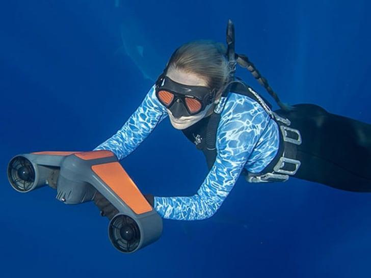Trident underwater scooter.