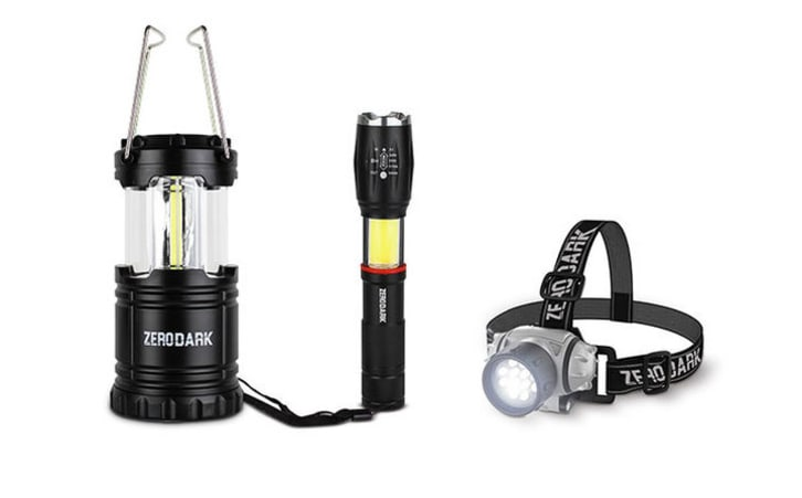 Aduro flashlight set.