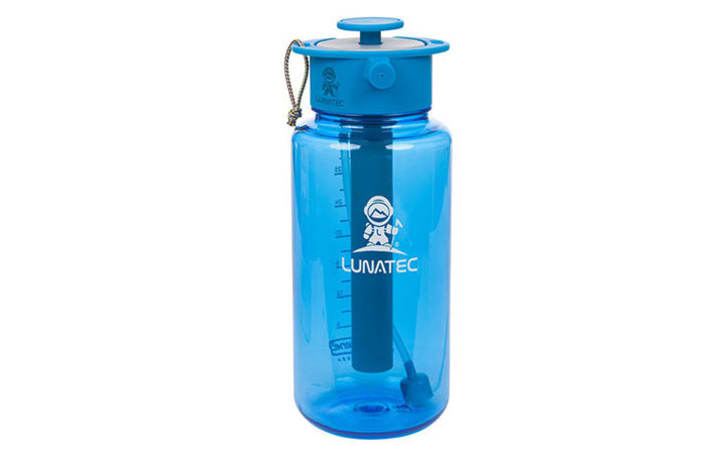 Lunatec spray water bottle.
