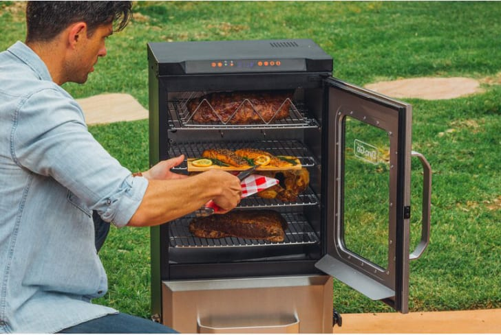 Dyna-Glo electric smoker.