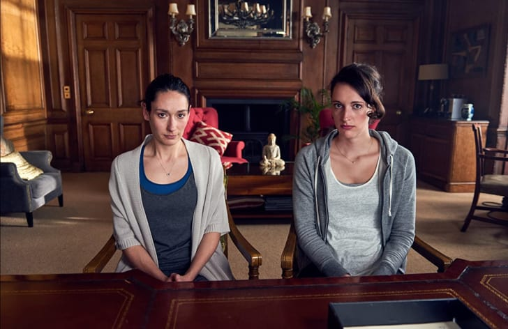 Sian Clifford and Phoebe Waller-Bridge in 'Fleabag'
