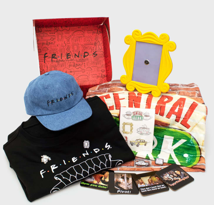 Friends box from CultureFly