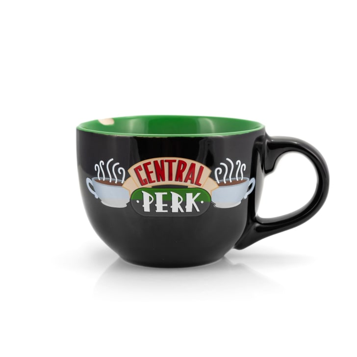Central Perk mug from Friends.