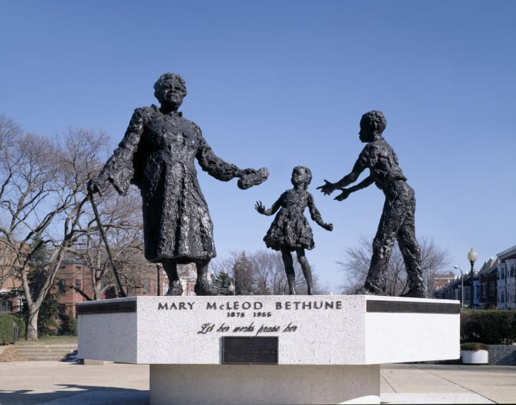 mary mcleod bethune monument