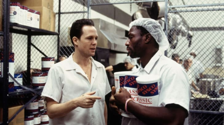 Dean Winters and Adewale Akinnuoye-Agbaje in 'Oz'