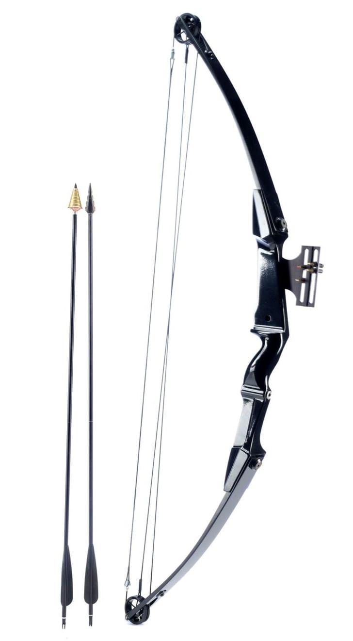 Rambo's bow and arrows from Rambo II.