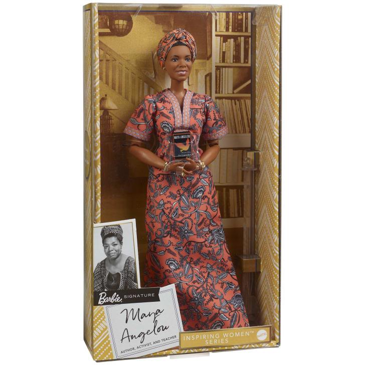 Maya Angelou é a última adição à linha 'Inspiring Women' da Barbie