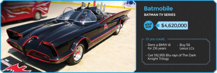 Batmobile from Batman.
