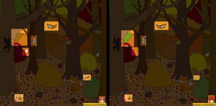 Hora da diversão: encontre a diferença entre as duas imagens nesse quebra-cabeça do artista Gergley Dudás