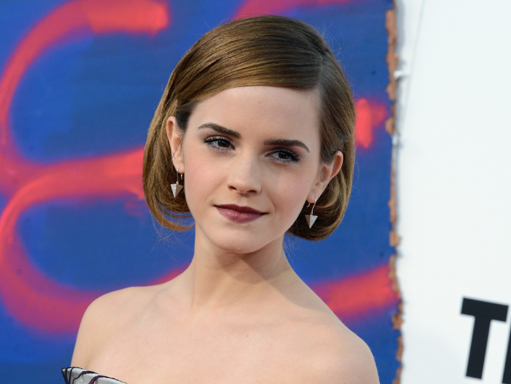 Actress Emma Watson attends the Premiere of Columbia Pictures' 'This Is The End' at Regency Village Theatre on June 3, 2013 in Westwood, California.