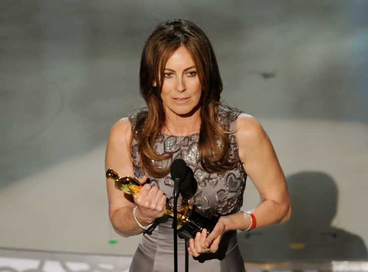 Director Kathryn Bigelow accepts Best Director award for 'The Hurt Locker' onstage during the 82nd Annual Academy Awards held at Kodak Theatre on March 7, 2010 in Hollywood, California