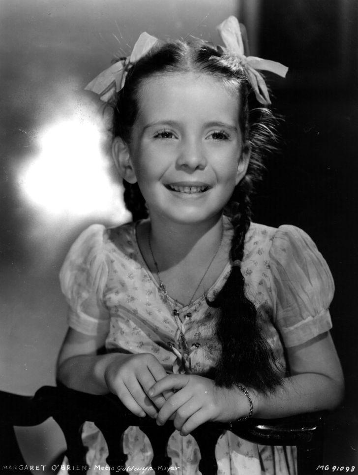 Child actress Margaret O'Brien.