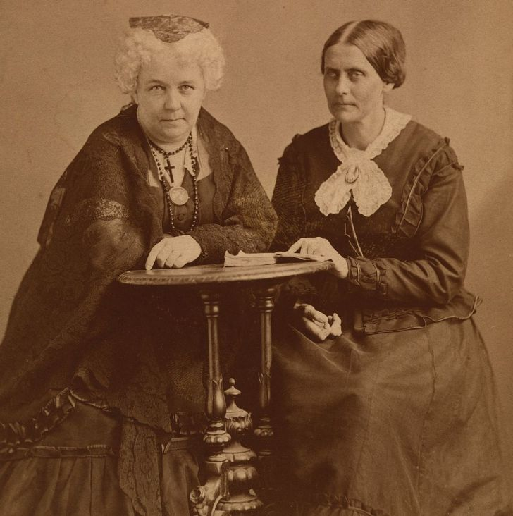 Elizabeth Cady Stanton and Susan B. Anthony