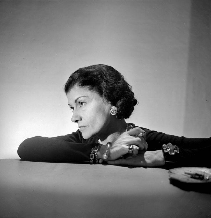 Portrait of Coco Chanel