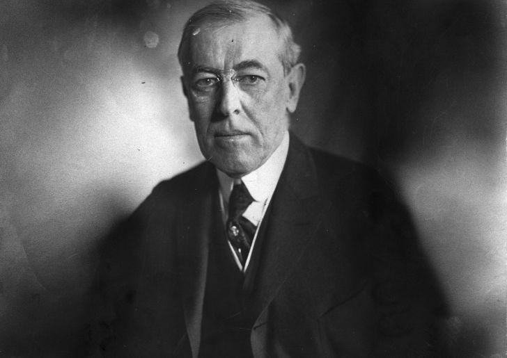 portrait of Woodrow Wilson