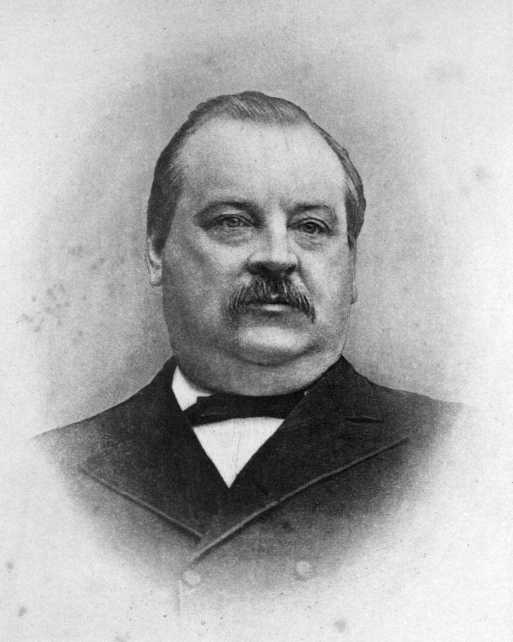 Grover Cleveland circa 1885.