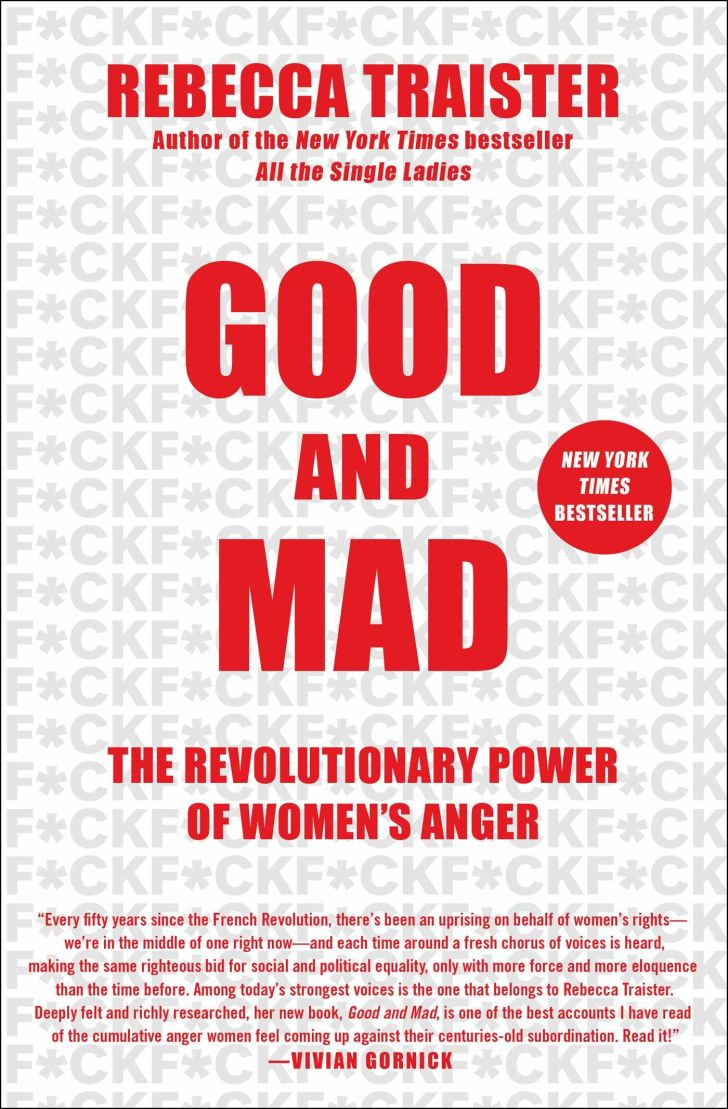 An image of the title of the book Good and Mad.
