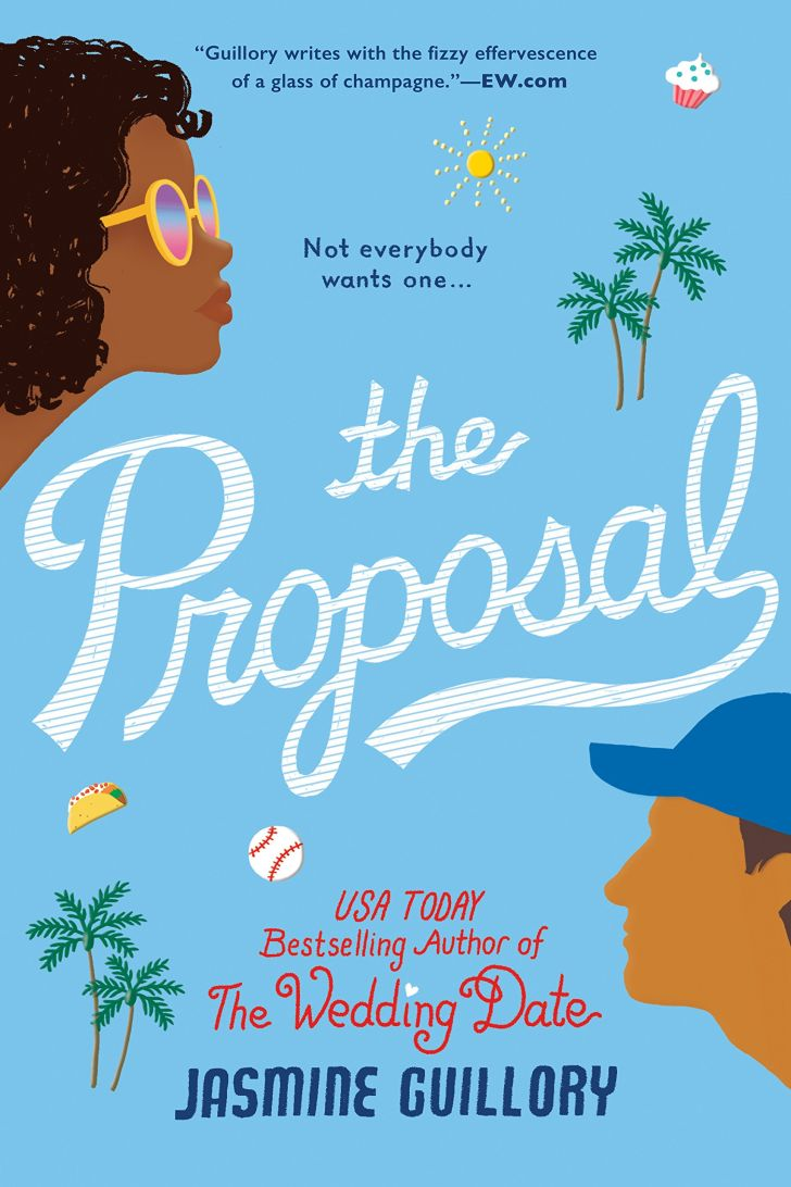 An image of the cover of the book The Proposal.