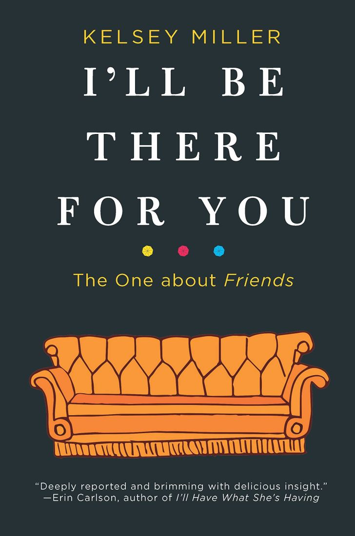 An image of the cover of the book I'll Be There For You.