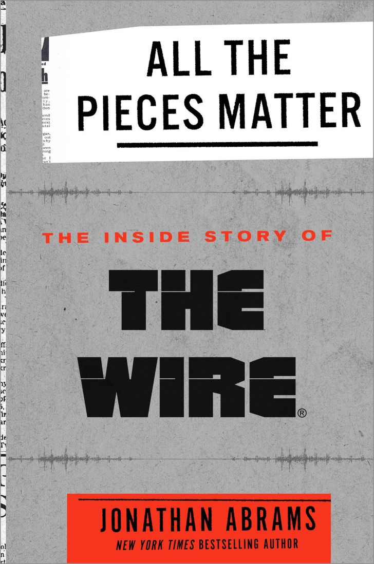 An image of the cover of the book All the Pieces Matter: The Inside Story of The Wire.
