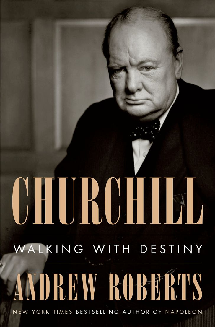 An image of the cover of the book Churchill: Walking With Destiny.