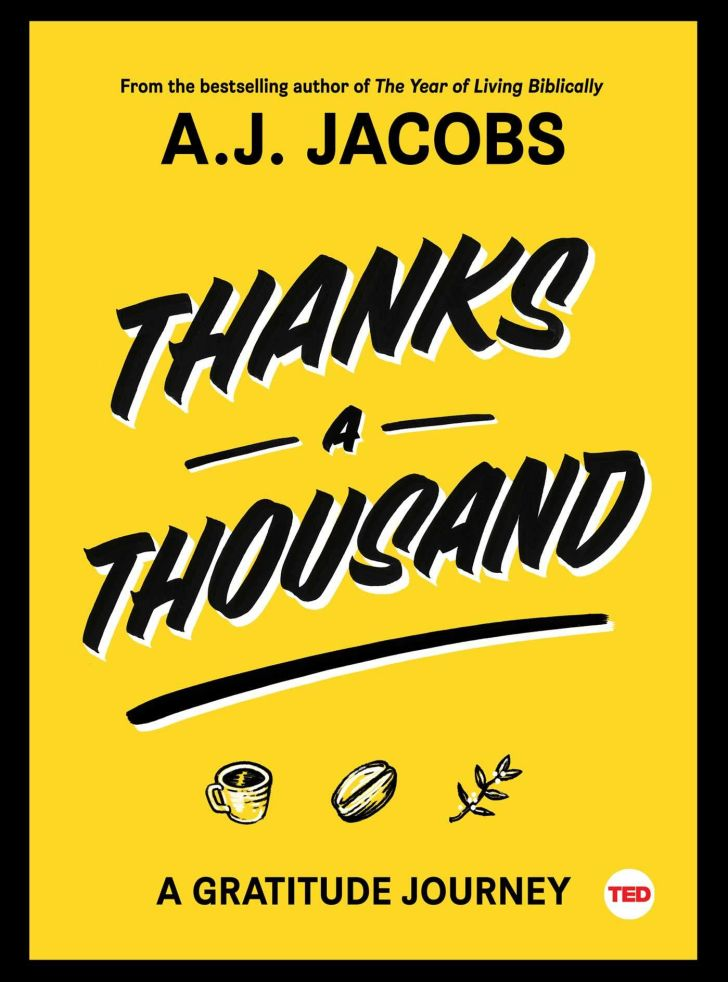 An image of the cover of the book Thanks A Thousand.
