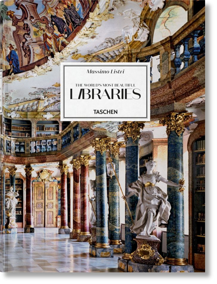 An image of the cover of the book The World's Most Beautiful Libraries.