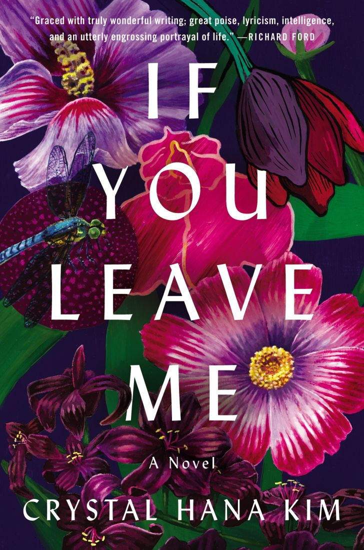 An image of the cover of the book If You Leave Me.