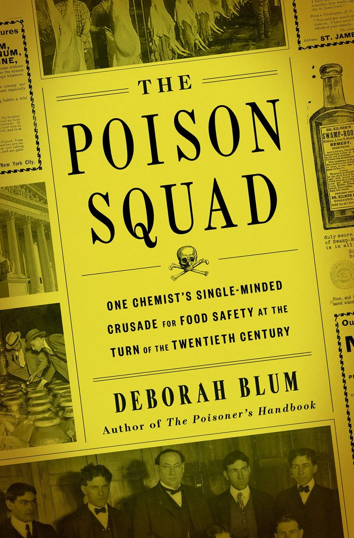 An image of the cover of the book The Poison Squad.