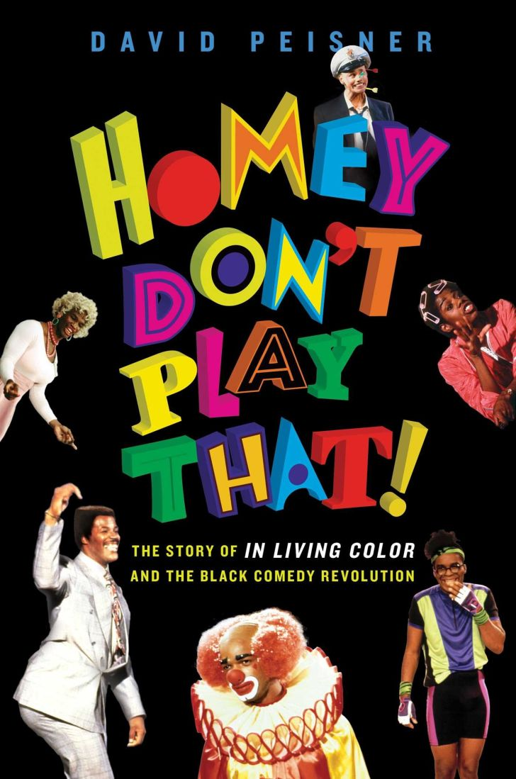An image of the cover of the book Homey Don't Play That!