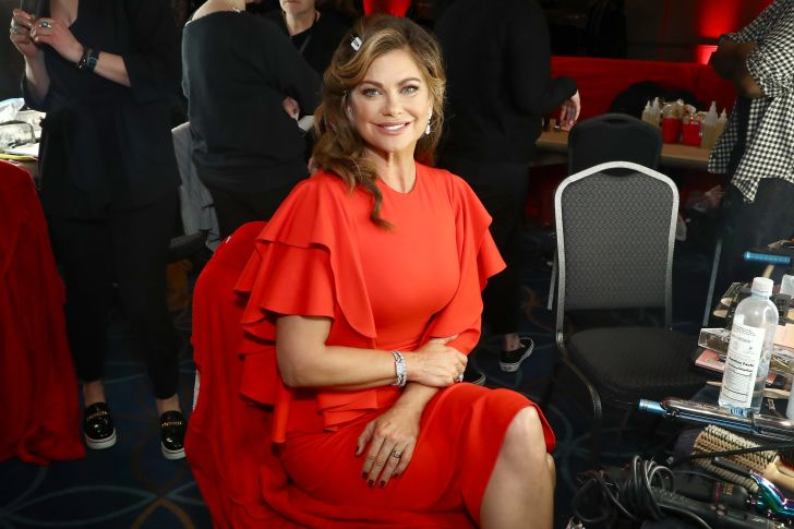 Model Kathy Ireland at a fashion show in 2018.