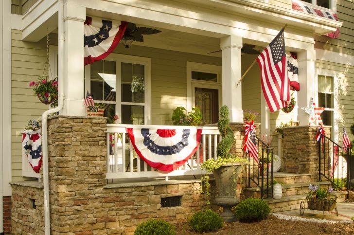 house with Americana