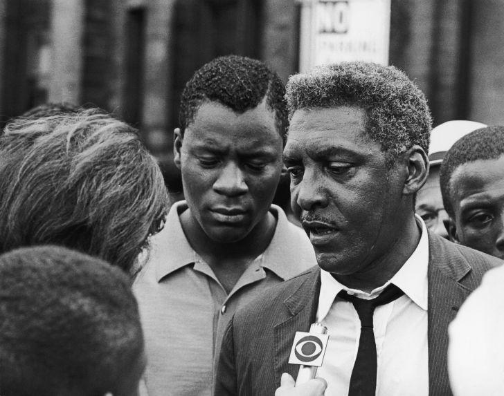 Civil rights activist Bayard Rustin in 1964.