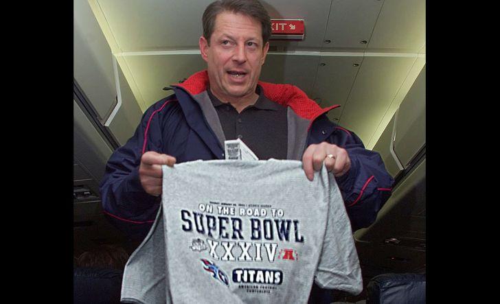 Titans fan Al Gore